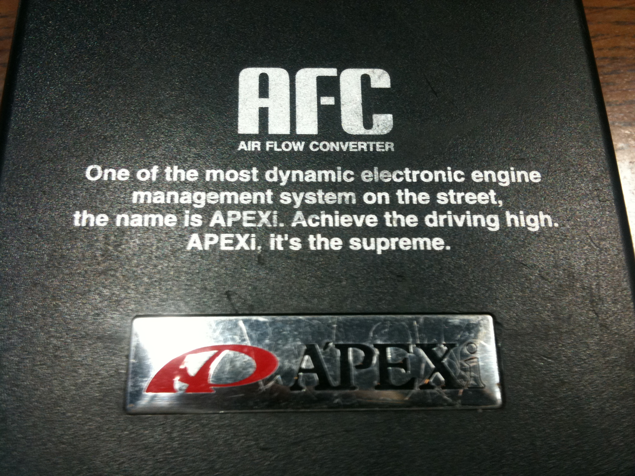 Apexi Safc Older Free Download Wiring Diagram For 1994 Acura Integra Ls Its The Supreme Db Performance Blog Product At